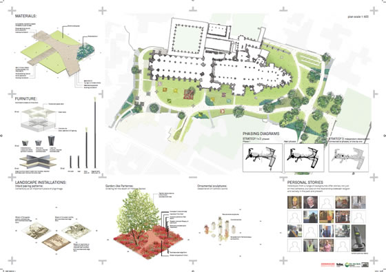 Canterbury cathedral landscape design competition shortlist for Landscape design contest