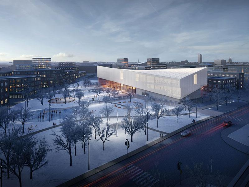 Charming Henning Larsen Architects + MARK Arhitekti U2014 The Latvian Museum Of  Contemporary Art Design Competition