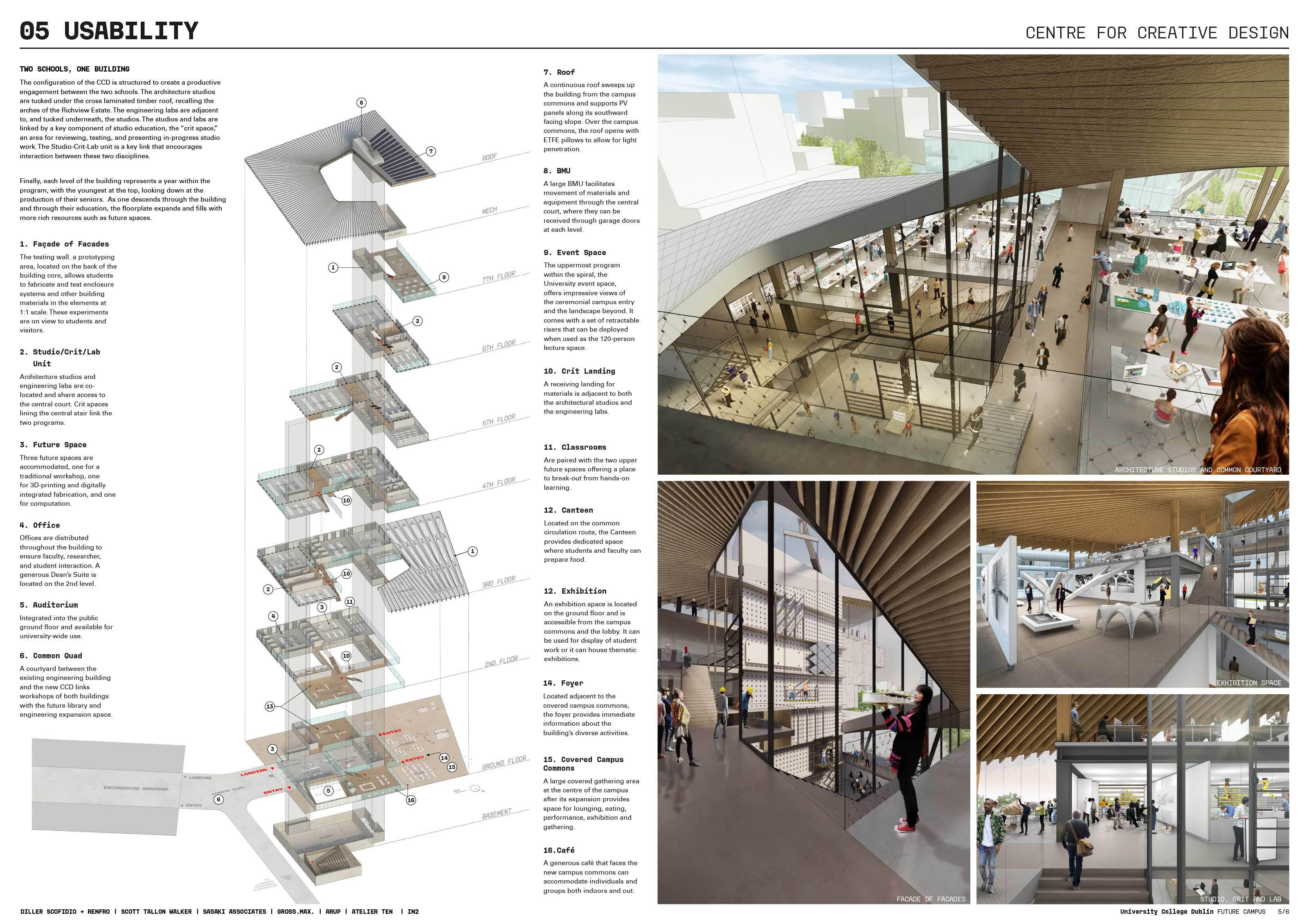 Diller Scofidio Future Campus Ucd International Design